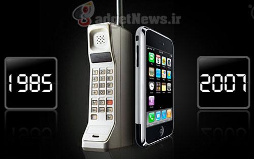 تلفن همراه؛ ديروز، امروز، فردا