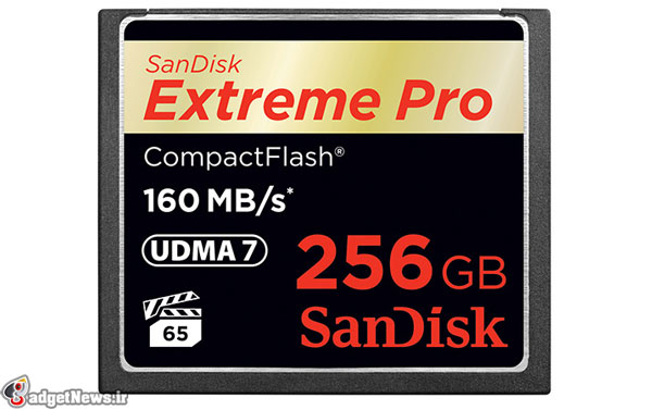 sandisk 256gb compactflash card