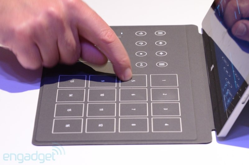 surface music control cover