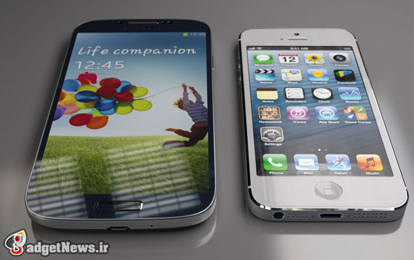 iphone 5s vs samsung galaxy s4