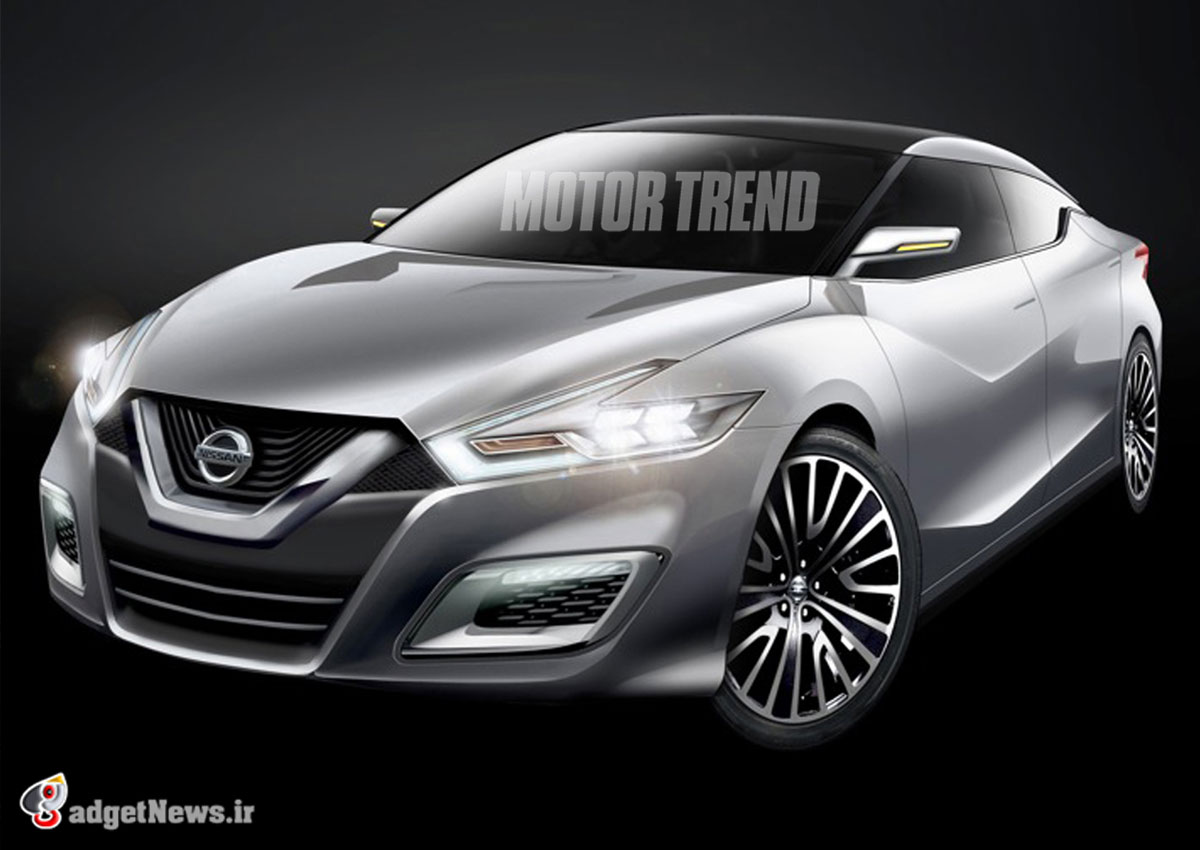 2015 Nissan Maxima Rendered