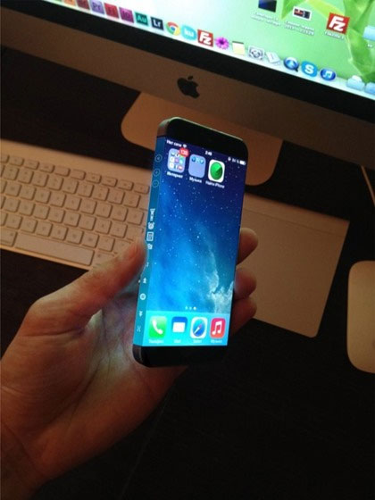 iPhone 6 wrap around screen video