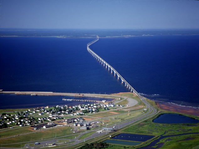 The Confederation Bridge, Canada