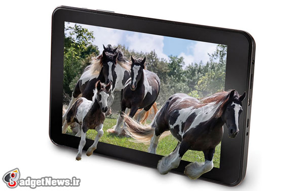 hammacher schlemmer no glasses 3d tablet