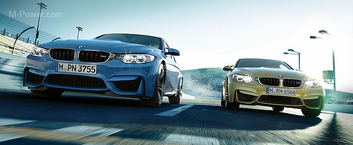 2014 bmw m3 and m4