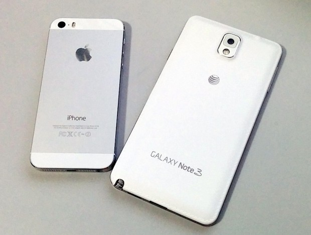iphone 5s beats the galaxy note 3