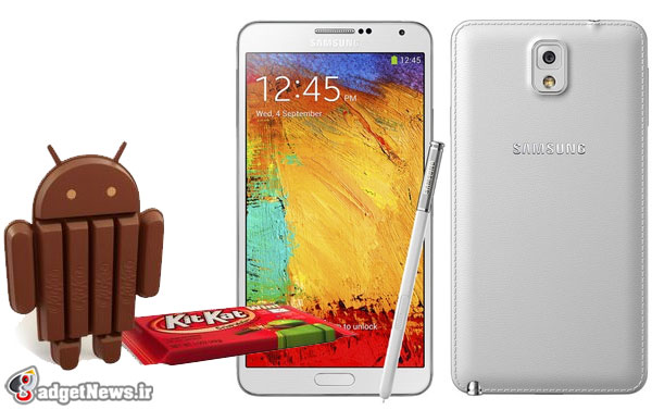 Android 4.4.2 KitKat Galaxy Note 3