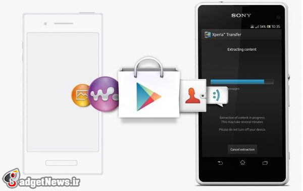 sony xperia transfer mobile for android