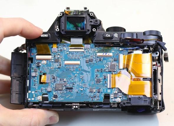 sony a7r camera teardown