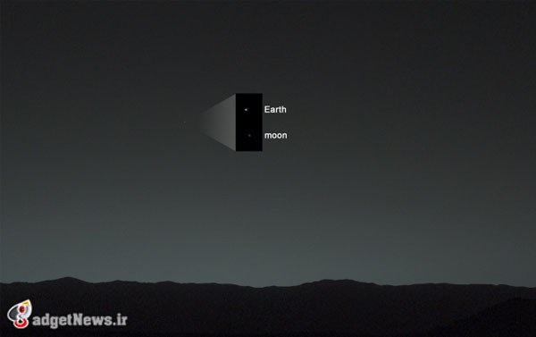earth view from mars