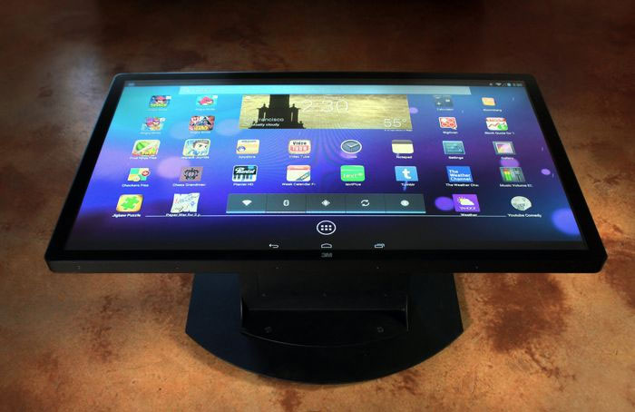 ideum platform 46 android table