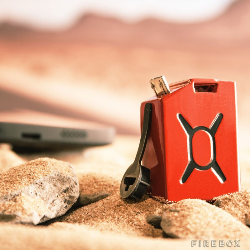 fuel the worlds smallest phone charger