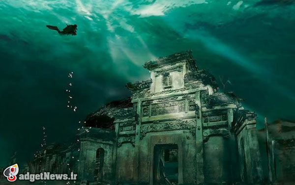 lost underwater city in china