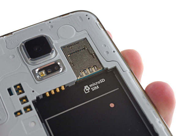 samsung galaxy s5 teardown