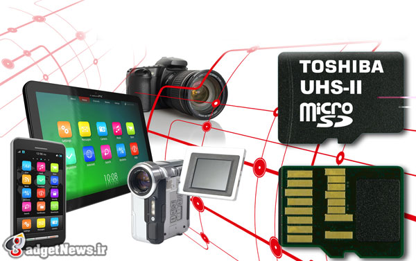toshiba debuts worlds fastest microSD memory cards