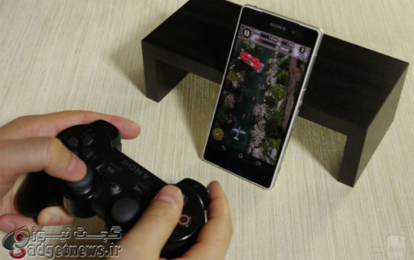 how to connect a PlayStation 3 controller to xperia smartphone
