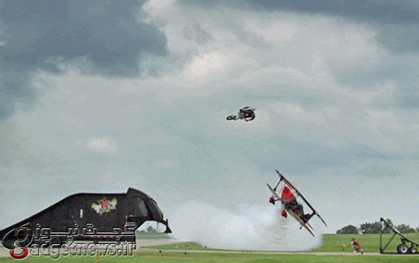 Motorcycle-jumps-over-plane