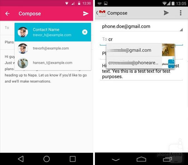 android l vs android kitKat
