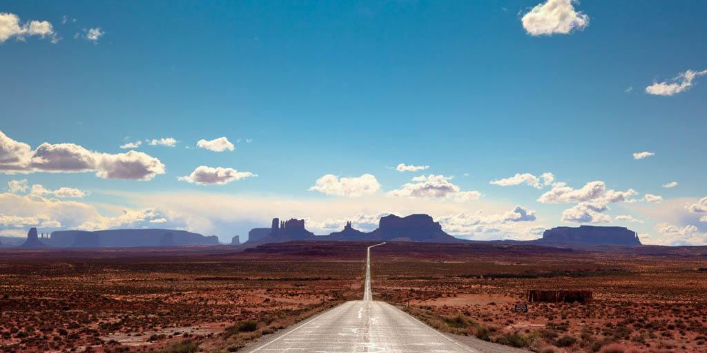 جاده زیبای بایوی  از مرز آریزونای امریکا