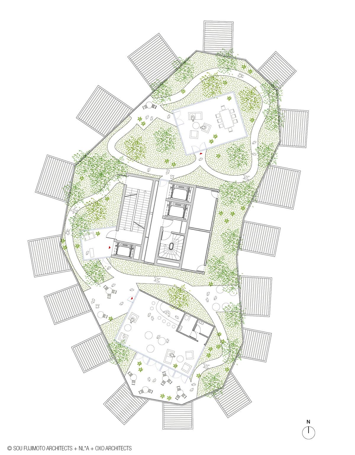 طراحی زیبای برج درخت سفید