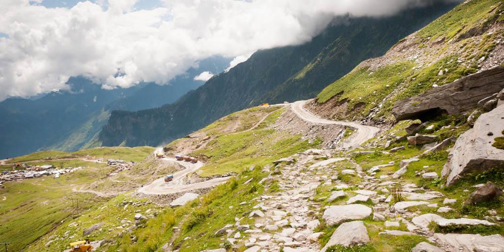 مسیر روهتانگ (Rohtang) در هند