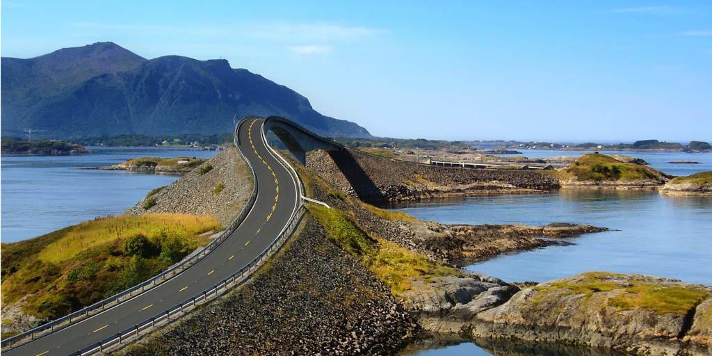 جاده آتلانتیک در نروژ
