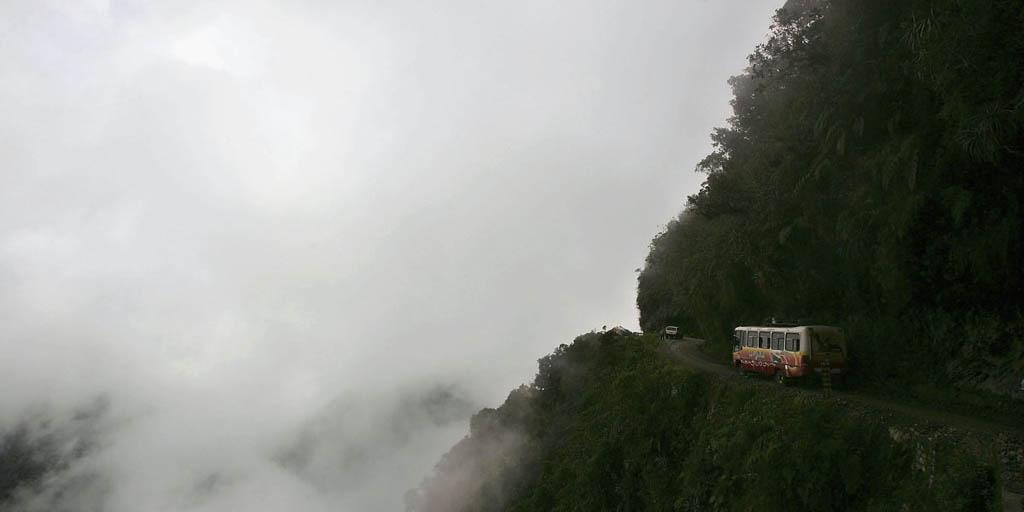 جاده یانگاس شمالی در بولیوی