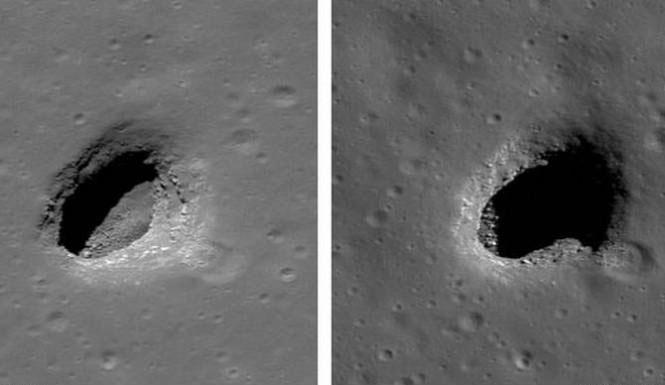 حفره یا حفره یا چاله بزرگ ماه