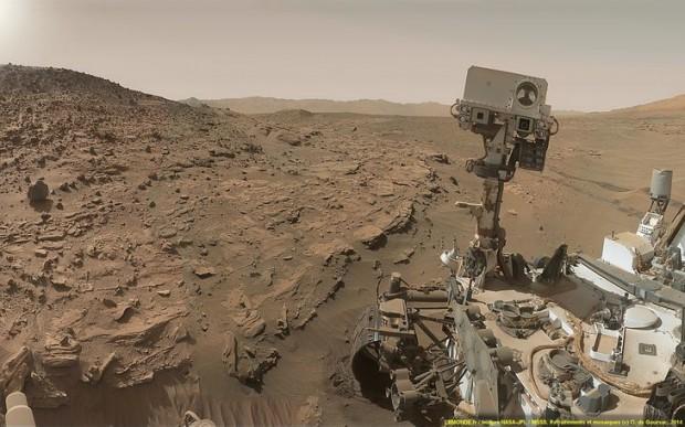 جدیدترین عکس های کاوشگر ناسا از غروب خورشید در مریخ