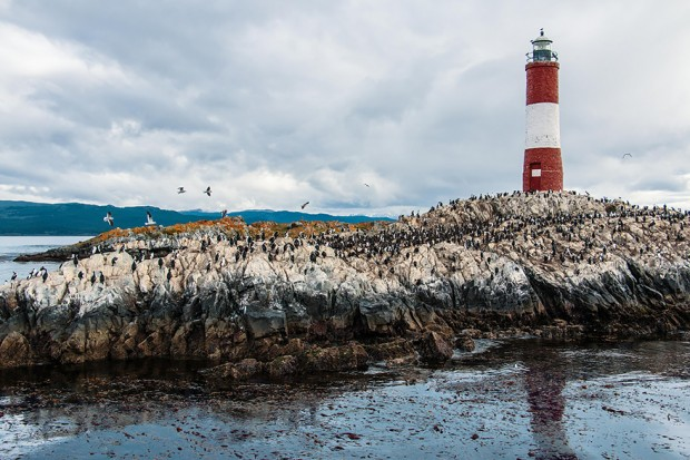 Lighthouse in Beagle Channel, Argentina/Chile