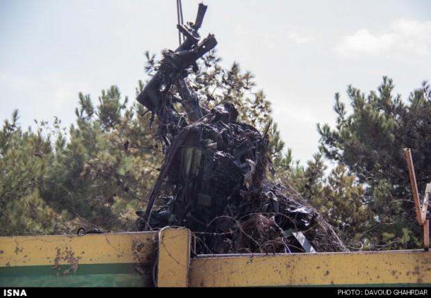 سقوط هواپیمای مسافربری ایران در فرودگاه مهر آباد تهران