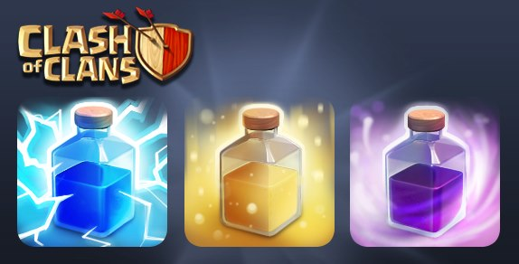 Clash of Clans Spell