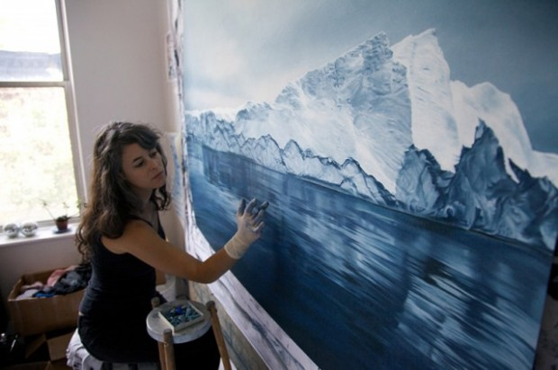 Pastel-Icebergs-by-Zaria-Forman-15
