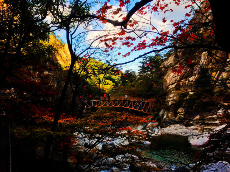 Seoraksan National Park, Gangwon Province, South Korea