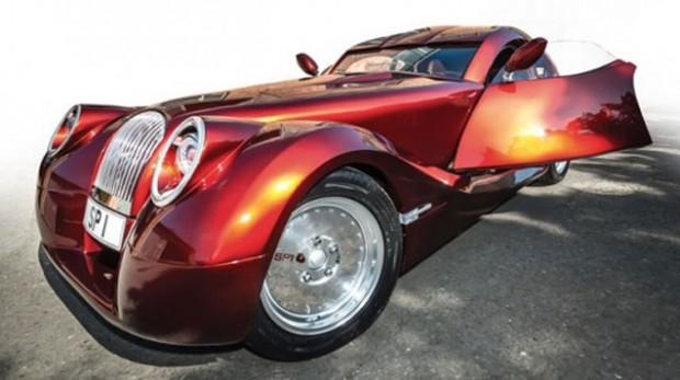 مورگان اتومبیل باشکوه SP1 را معرفی کرد : سنتی اما مدرن