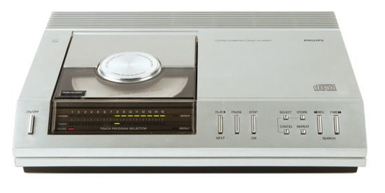 philips compact disc 1983
