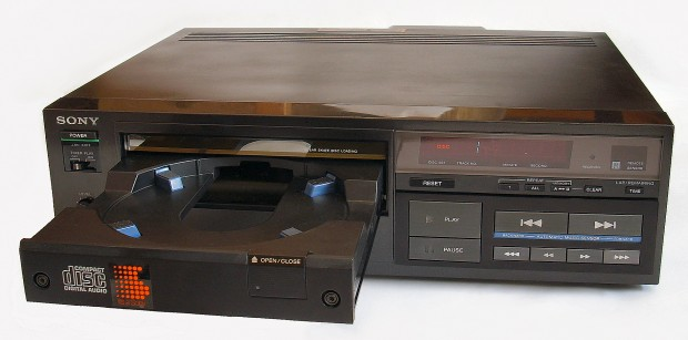 sony compact disc 1983