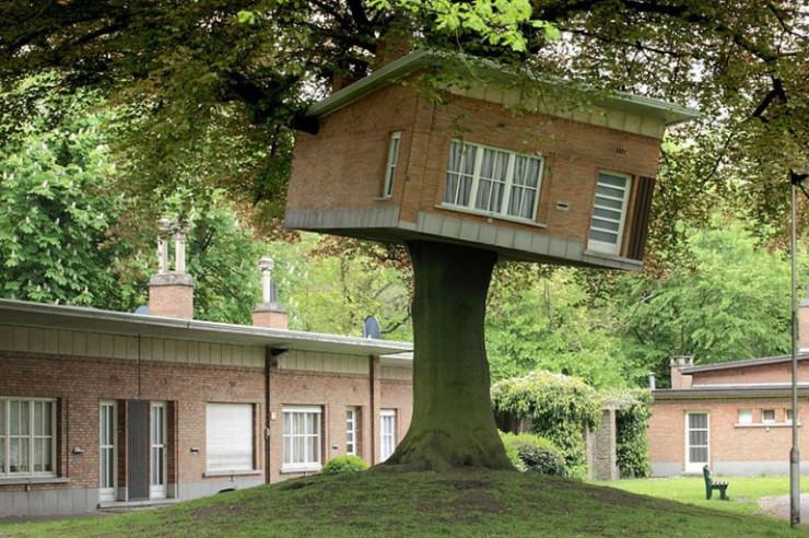 Senior Center Turned Tree House, Ghent, Belgium