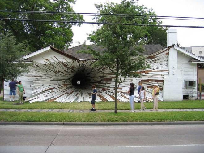 خانه روزنه ای(تگزاس، ایالات متحده آمریکا)