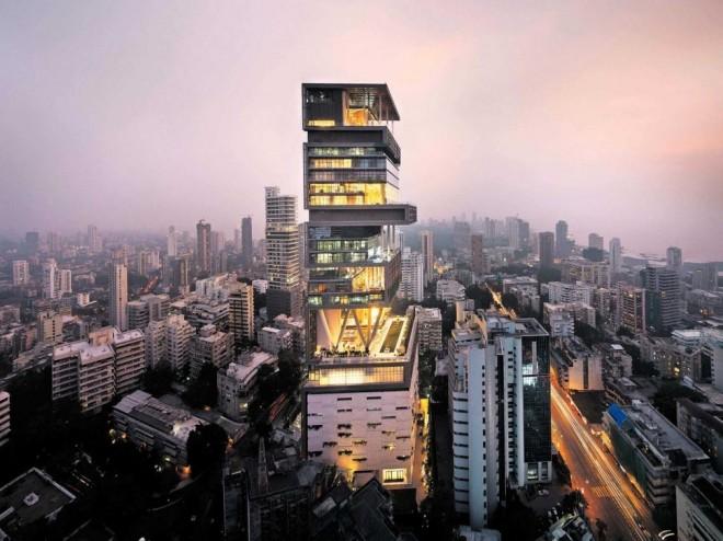 برج آنتیلا (بمبئی، هند)