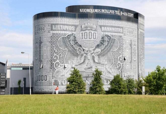 بنای اسکناسی (کائوناس، لیتوانی)