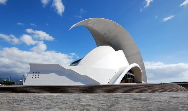بنای سالن کنسرت تنریف  (جزایر قناری، اسپانیا)