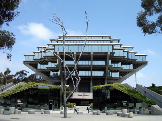 کتابخانه گایزل (سن دیگو، کالیفرنیا، ایالات متحده آمریکا)