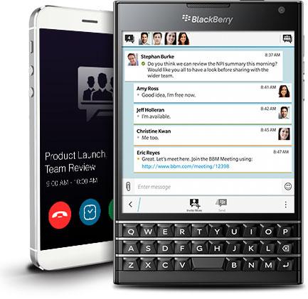 BBM Meetings اپلیکیشن جدید بلک بری برای برقراری ویدئو کنفرانس با موبایل
