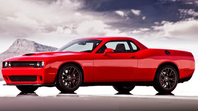 Dodge-Challenger-SRT-Supercharged-Pickup