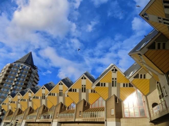 خانه های مکعبی (روتردام، هلند)