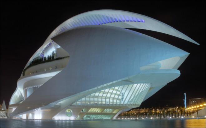 خانه اپرای والنسیا (والنسیا، اسپانیا)