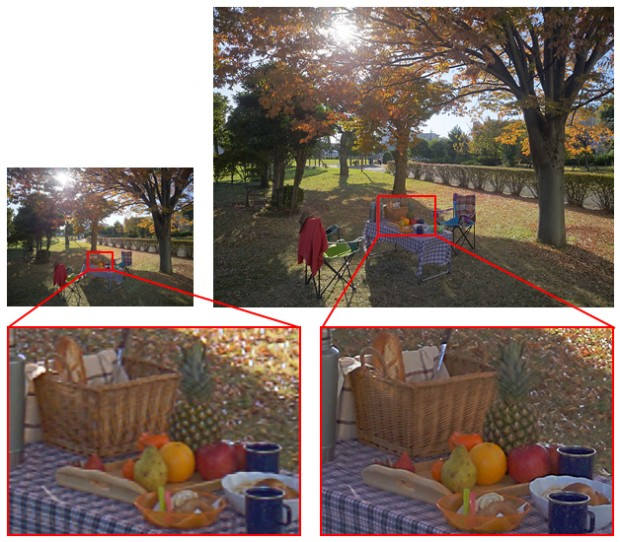 مقایسه کیفیت میان تصاویر ثبت شده با سنسور قدیمی IMX135 و سنسور جدید IMX230 سونی