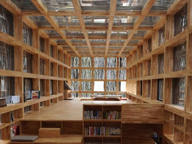 کتابخانه لییوان در پکن چین
