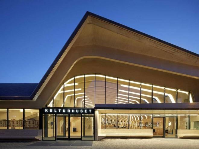 کتابخانه و مرکز فرهنگی ونسلا  در نروژ